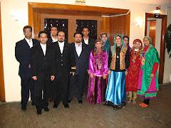 همكاران و گروه فرهنگي سرزمين پارس (جشن شب يلدا در هتل رامسر )