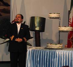 مراسم جشن شب يلدا و تاسيس سرزمين پارس