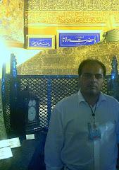 پويا منصفي در آرامگاه حضرت مولانا - قونيه - تركيه - سال 82