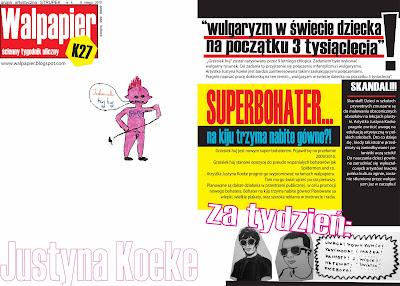 WALPAPIER numer 4 Justyna Koeke