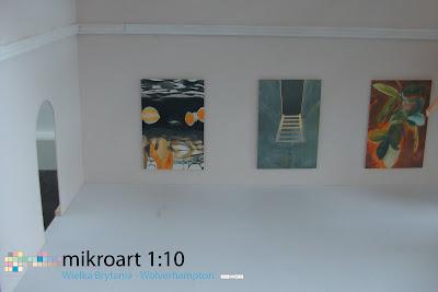 microart 1:10, wystawa malarstwa Krzysztofa Mężyka, Wolverhampton