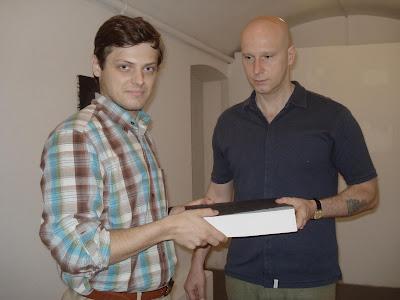 7 czerwca 2010 roku przekazanie mailbooka STRUPKA