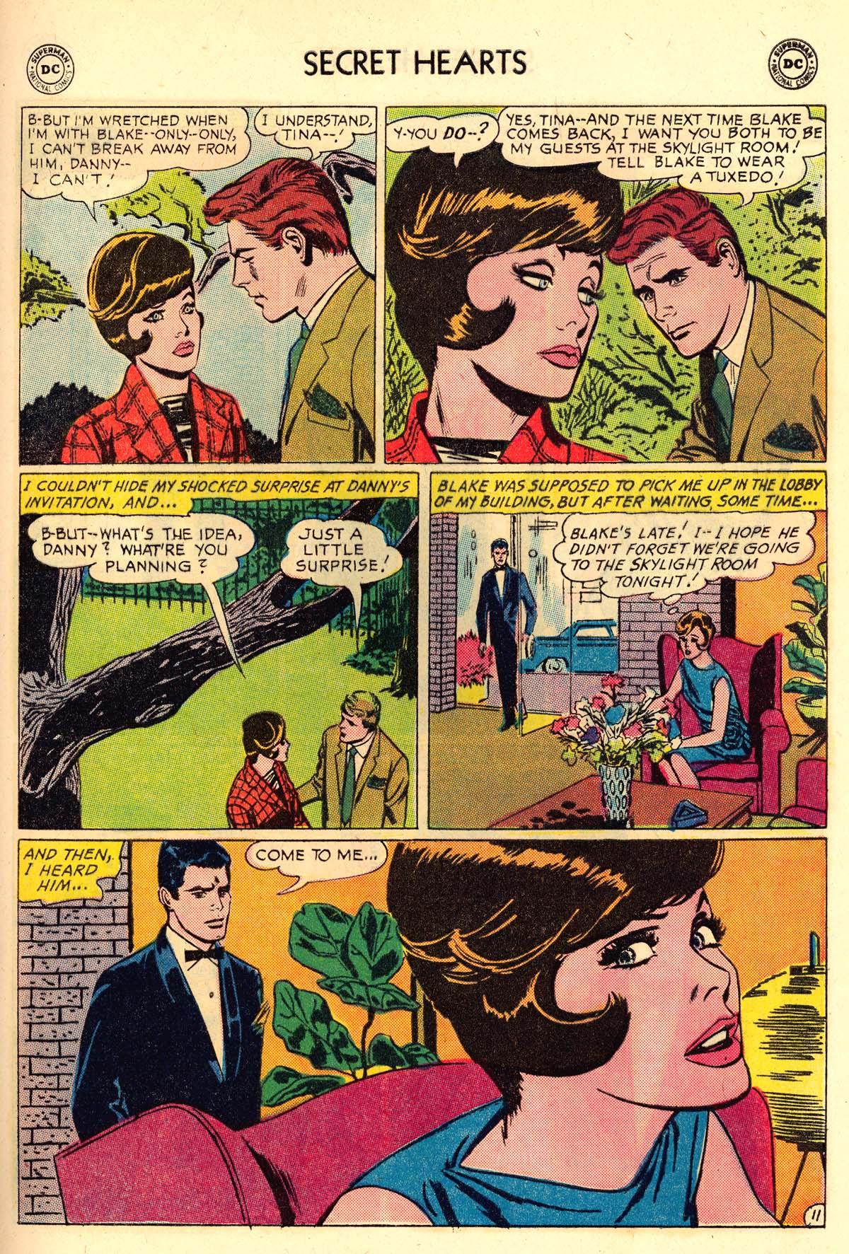Read online Secret Hearts comic -  Issue #106 - 29