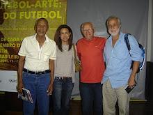 Dario, Lia Pereira (filha do Didi, Amaro e Afonsinho.