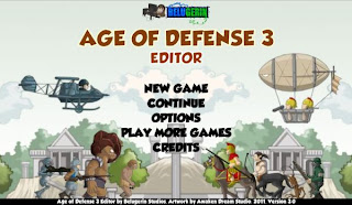 Age of Defense 3: Editor