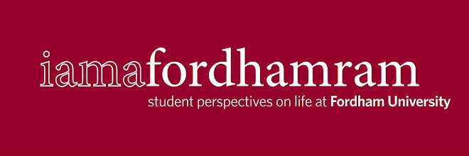I AM A FORDHAM RAM
