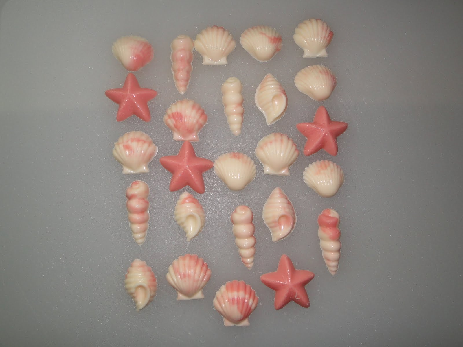 Cricut Sea Shell http://wdwmomdailyendeavor.blogspot.com/2010/07/candy-seashells-and-starfish.html