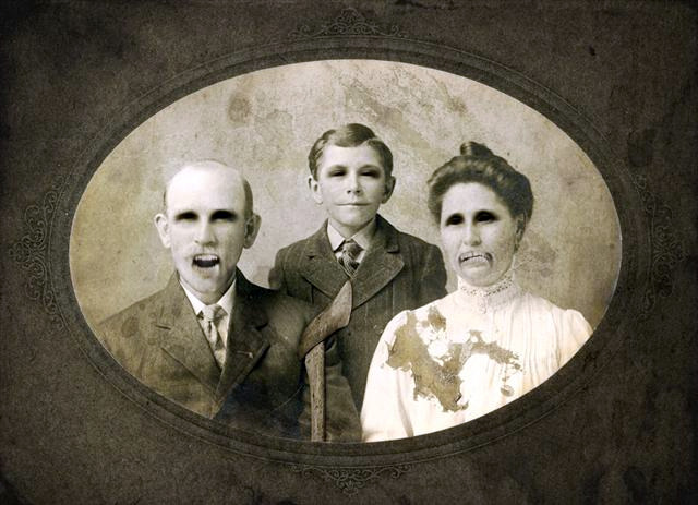 ... an artful blog about color and whimsy: Haunted Family Portrait