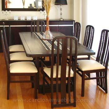 Muebles confort secret muebles de comedor for Muebles mesas y sillas de comedor