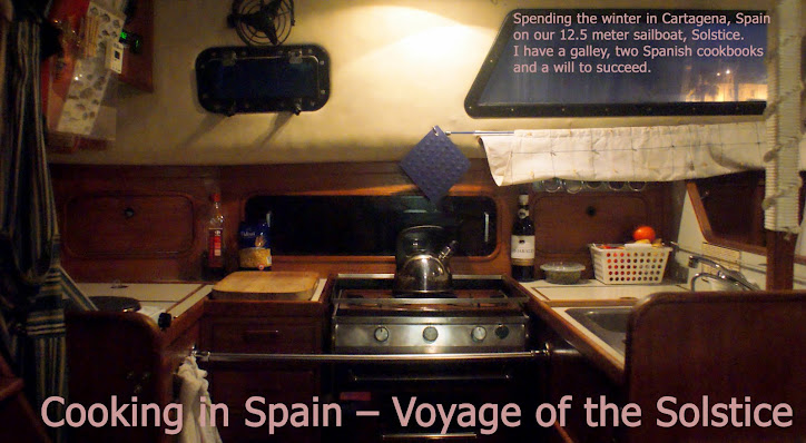 Cooking in Spain – Voyage of the Solstice