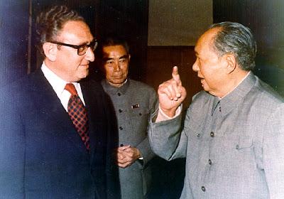 China comunista Kissinger+y+Mao