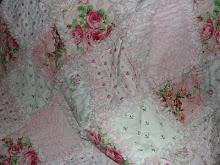 Sweet Pink Rag Quilt