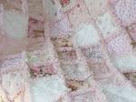 Soft Pink Rag Quilt