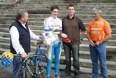 Remise du Trophée de l'amicale Euskadi Iparralde 2009