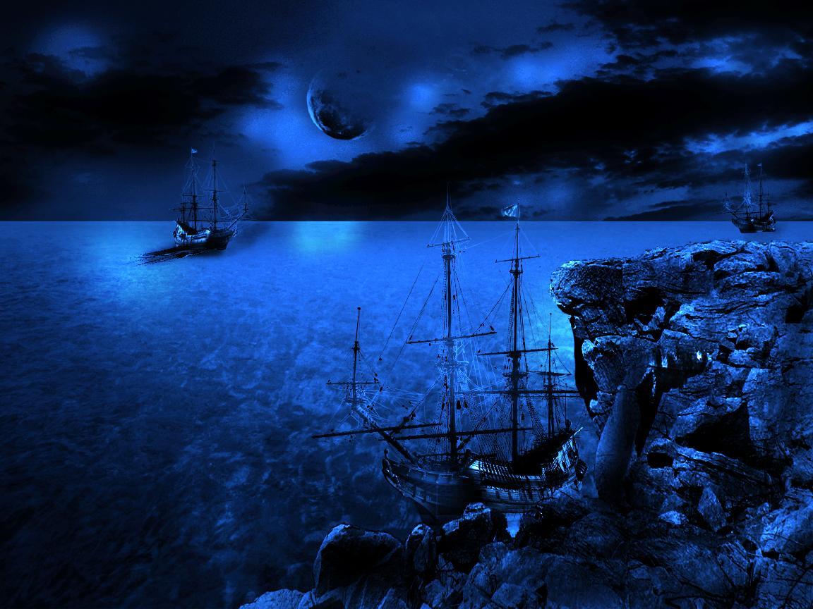 Noaptea pe mare
