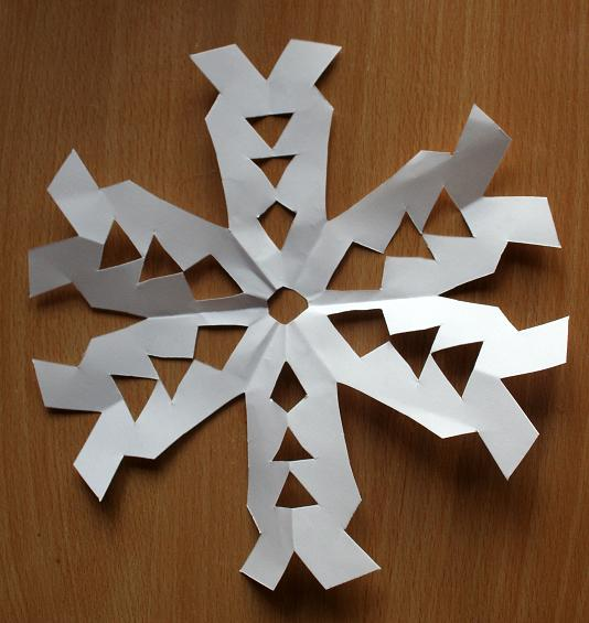 Snowflake Cutout Patterns Paper snowflakes