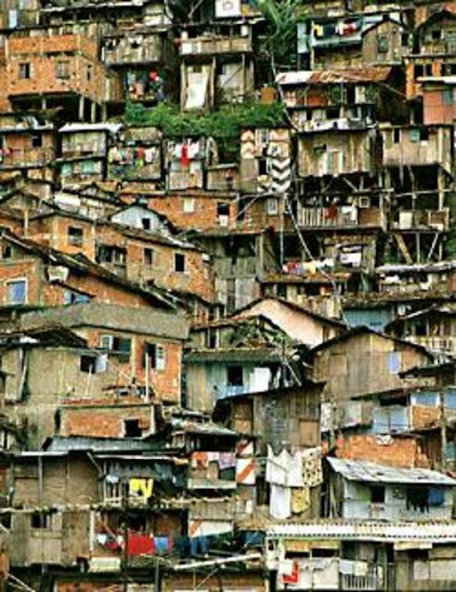 Houses in slum