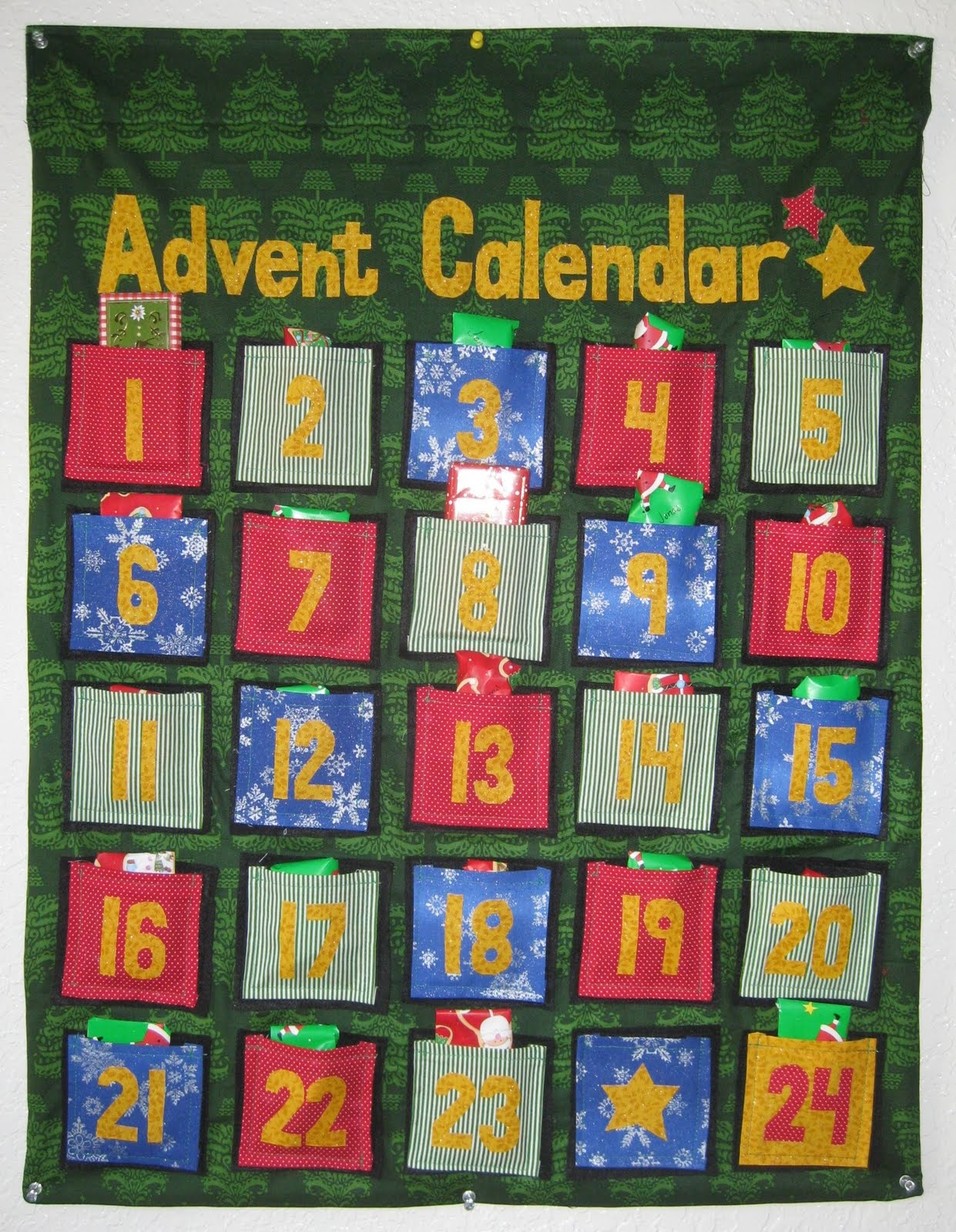 Advent Calendar Homemade : A little donnerwetter homemade advent calendar