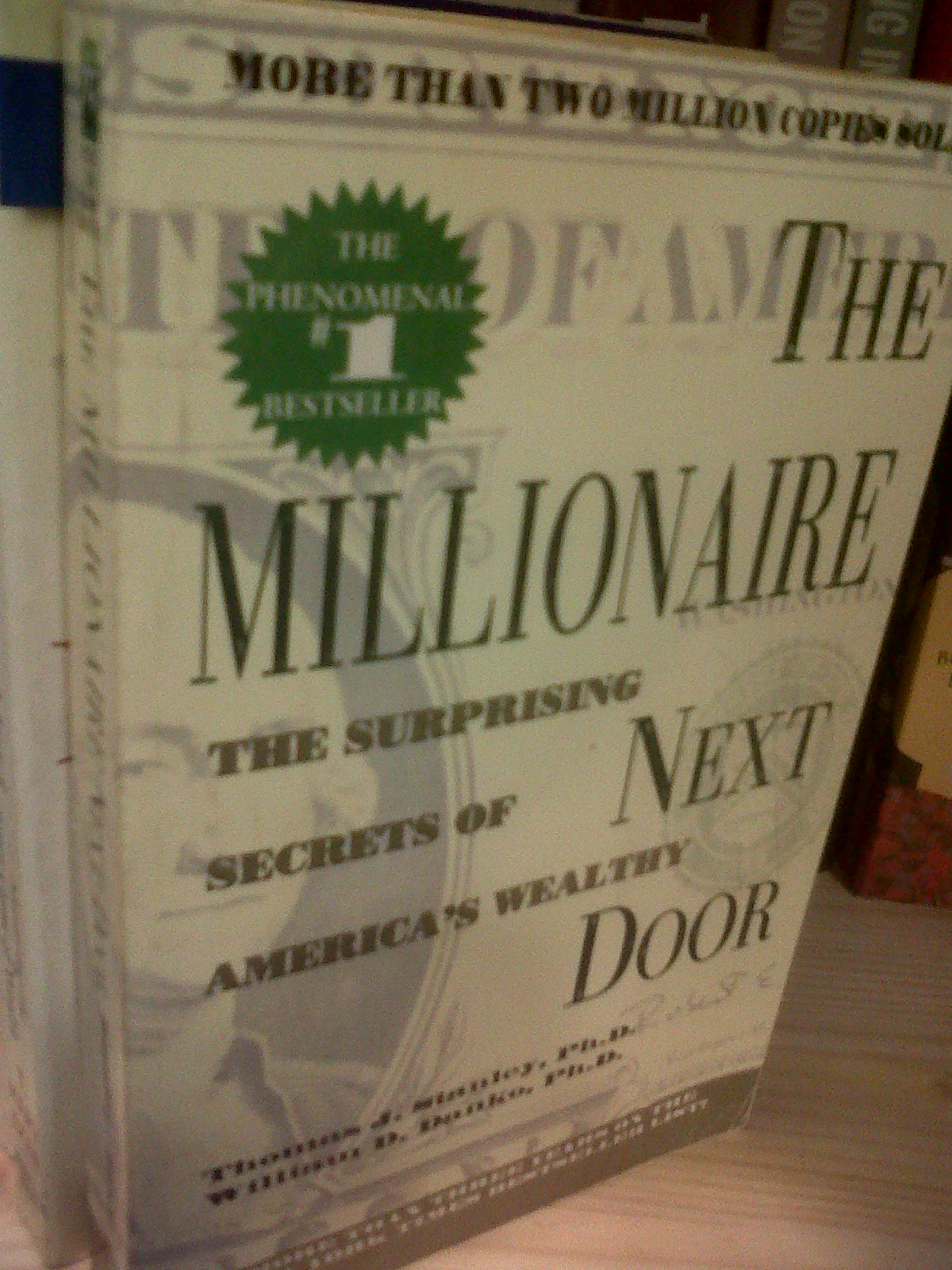 Millionaire Next Door Thomas J. Stanley