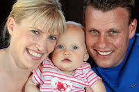 FAMILY TIES - Rotorua couple (from left) Rachel Petterson and Gaine Petterson love spending time with their precious daughter, Poppy Ella Petterson, 9 months. PICTURE- ANDREW WARNER 050110AW7