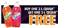 Buy 1 Crush product Get 1 Free