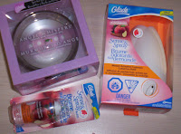 Today's Giveaway is a Glade Angel Whispers Scented Oil Candle and Glade Sense & Spray gift pack