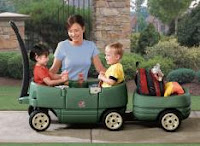 Todays Giveaway is a Step2 Company Wagon for Two, value $70