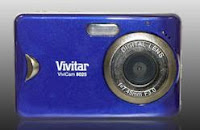 Vivitar Vivicam 8025 preview screen