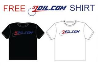 Free S1Oil.com T-Shirt