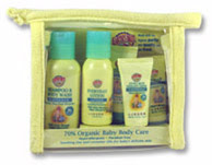 Earth's Best Baby Body Care Travel Pack