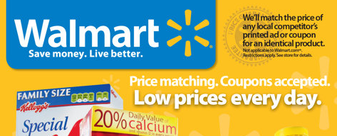 Does walmart take competitor coupons
