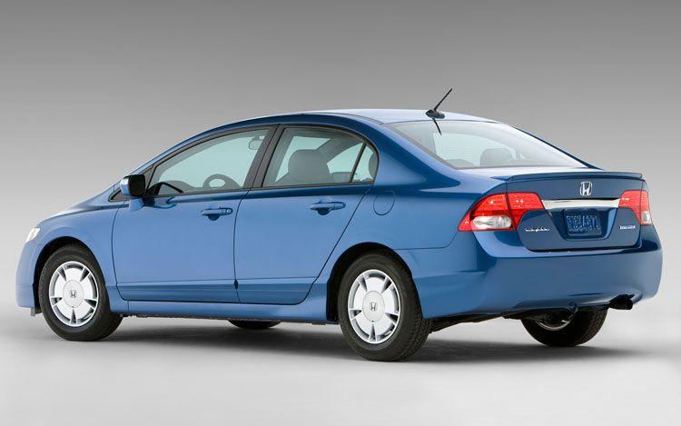 Hybrid cars honda civic hybrid continuous variable for Honda civic 2010 model