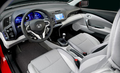 Hybrid cars - 2011 Honda CR-Z