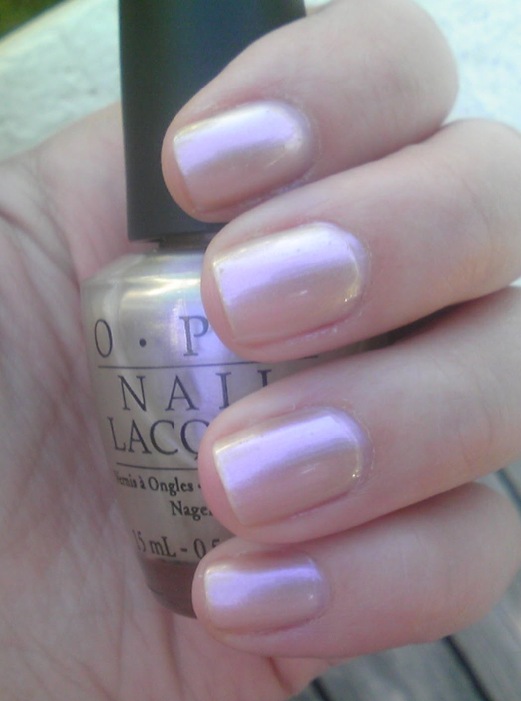Because Of The Iridescent Nature This Polish It Is Seriously Hard To Capture On Camera In Indirect Light Looks Like Pearls Melted Top Your