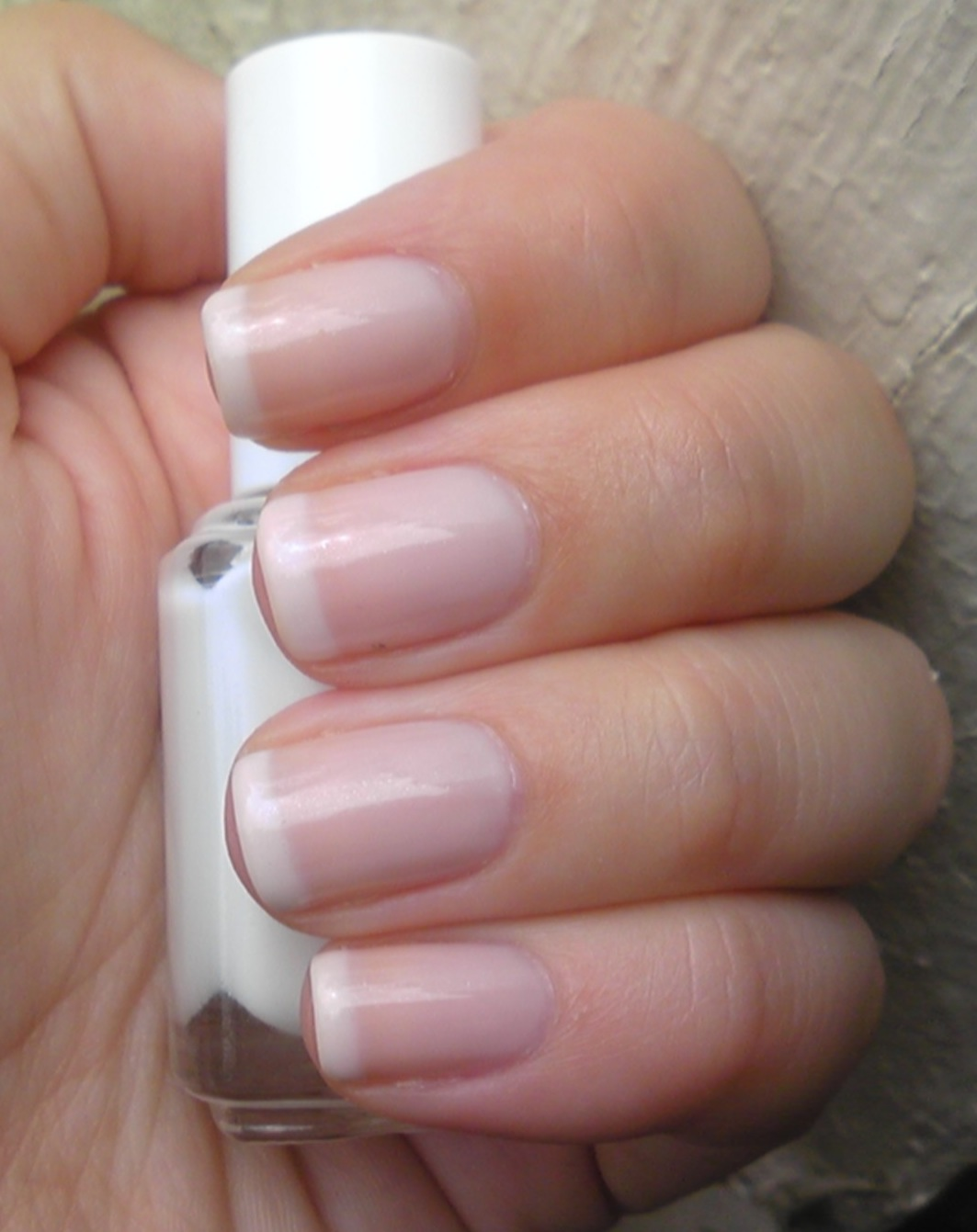 Polish or Perish: My New Fav French Tip Colour: Essie Marshmallow