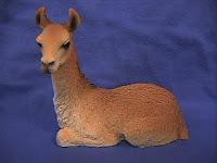llama figurine statue