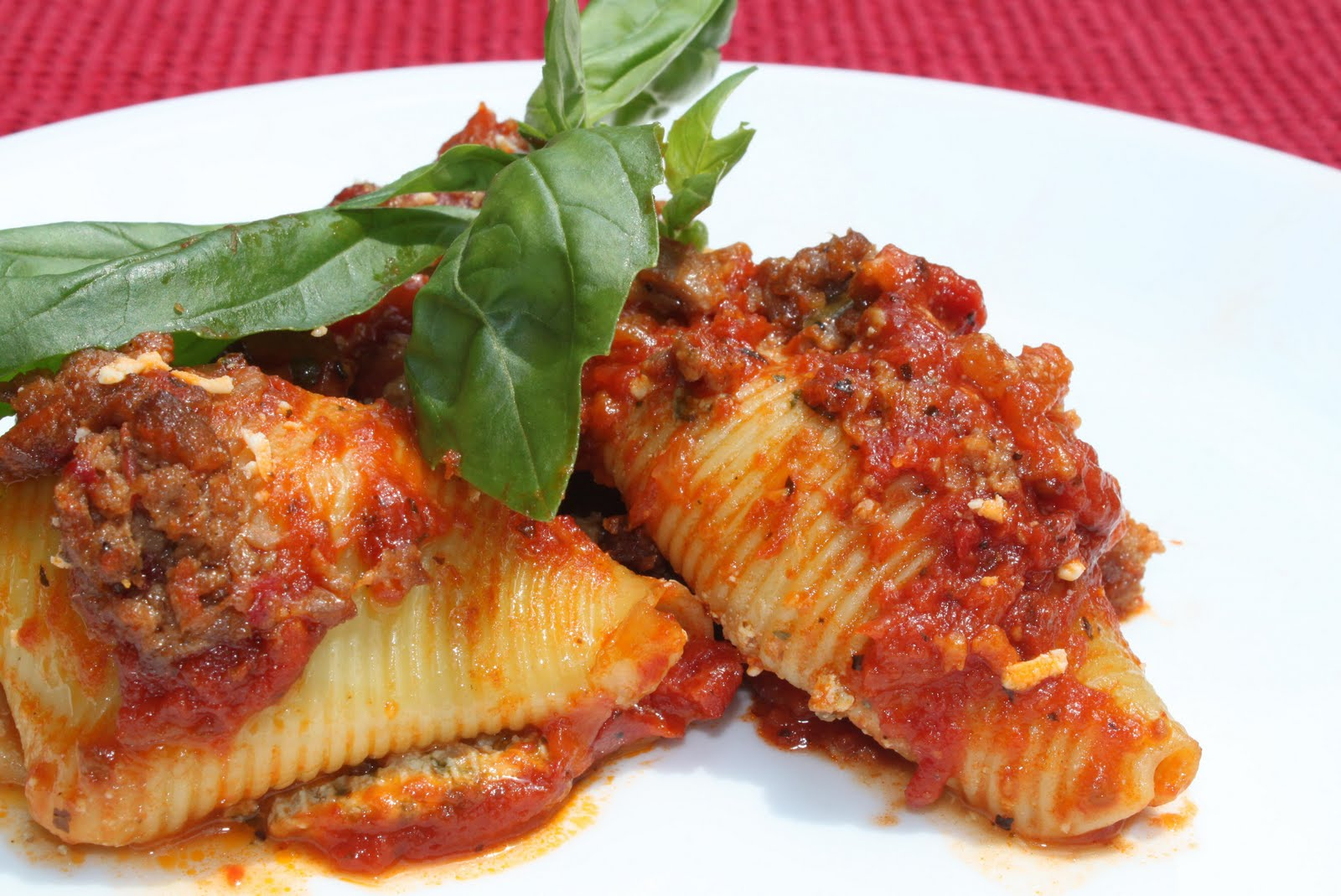 Vegan Aid: Saturday Lunch - Basil Stuffed Shells, Two Ways ...