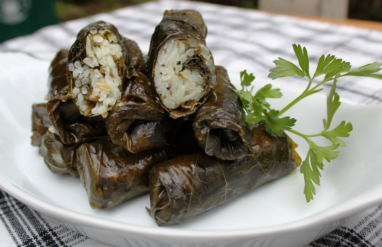 Weekly Vegan Menu: Sunday Lunch - Dolmas (September 19)