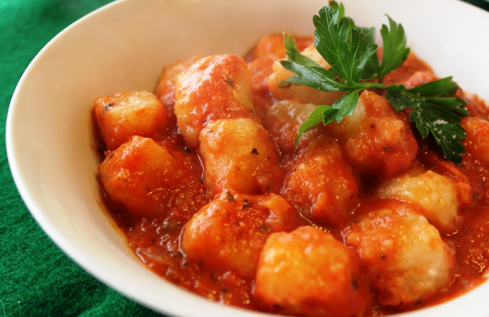 Gnocchi with Creamy Marinara Sauce