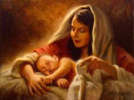 الرب يسوع المسيح (الله الظاهر في الجسد)  مولود العذراء