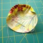 Como fazer flores de fuxico com o miolo cheio