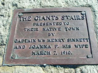 Giants Stairs Baileys Island Maine