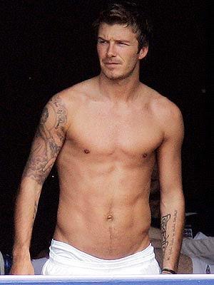 david beckham - David Beckham m�? Brad Pitt mi ?