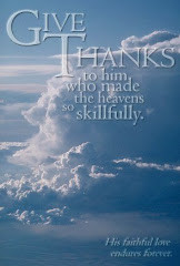 Give thanks to Him!
