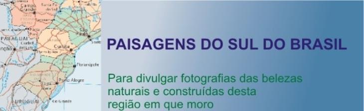 Paisagens do sul do Brasil