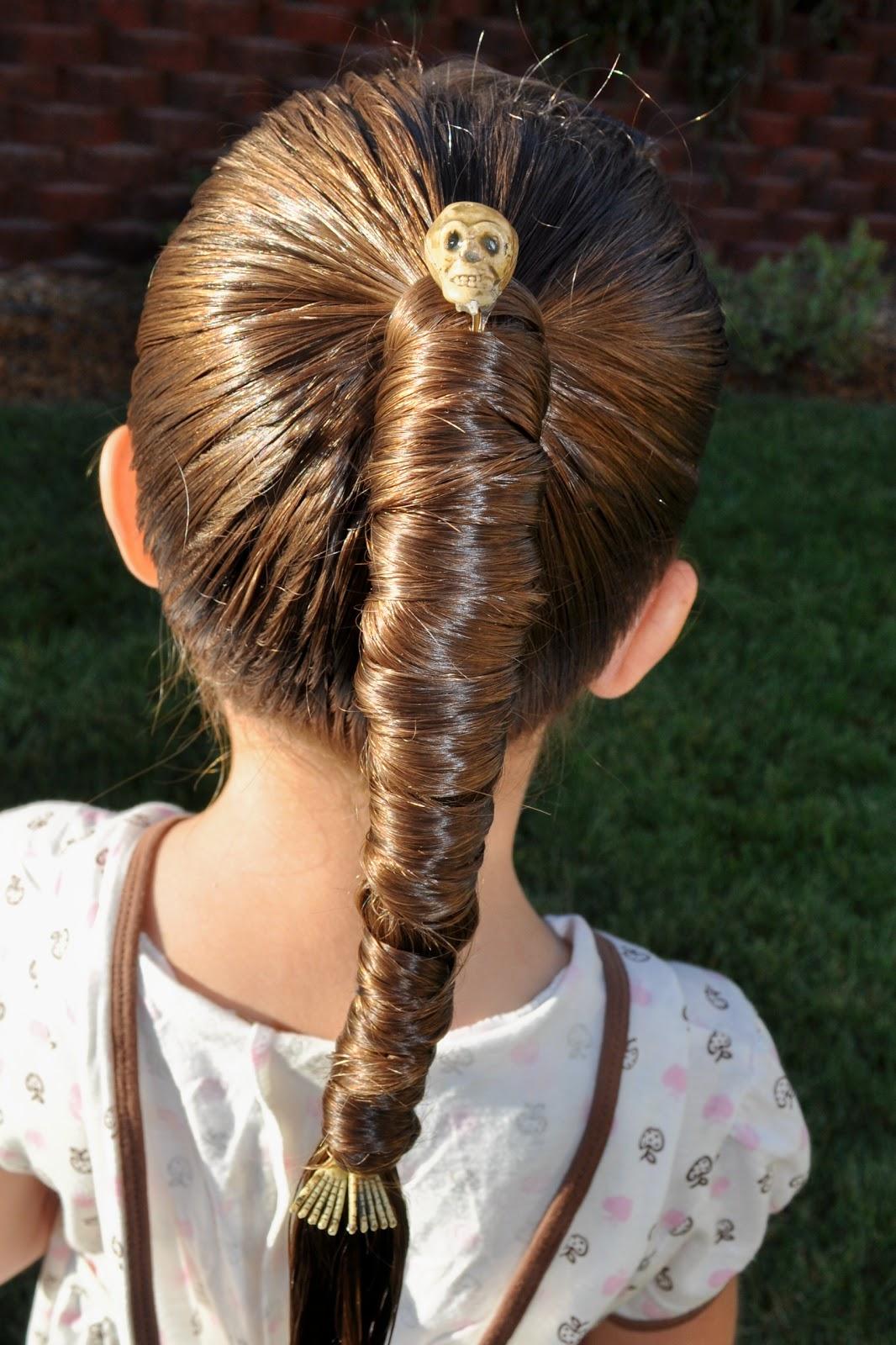 Princess Piggies Halloween Hairdos Mummy