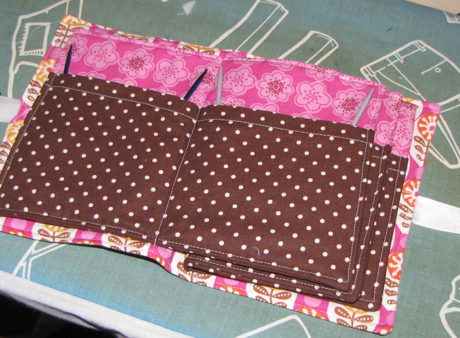 Knitting Needle Storage Case Pattern : Apple dumpling gear circular knitting needle holder tutorial