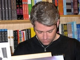 Me reading at the Oscar Wilde Bookshop in New York
