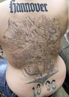 géo tatouage
