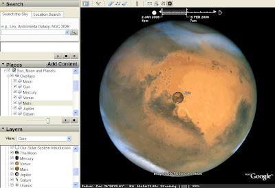 nouveaux layers pour google earth